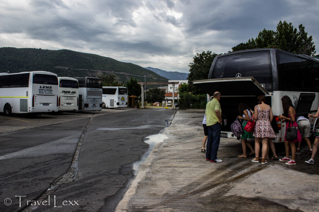 Budva bus station