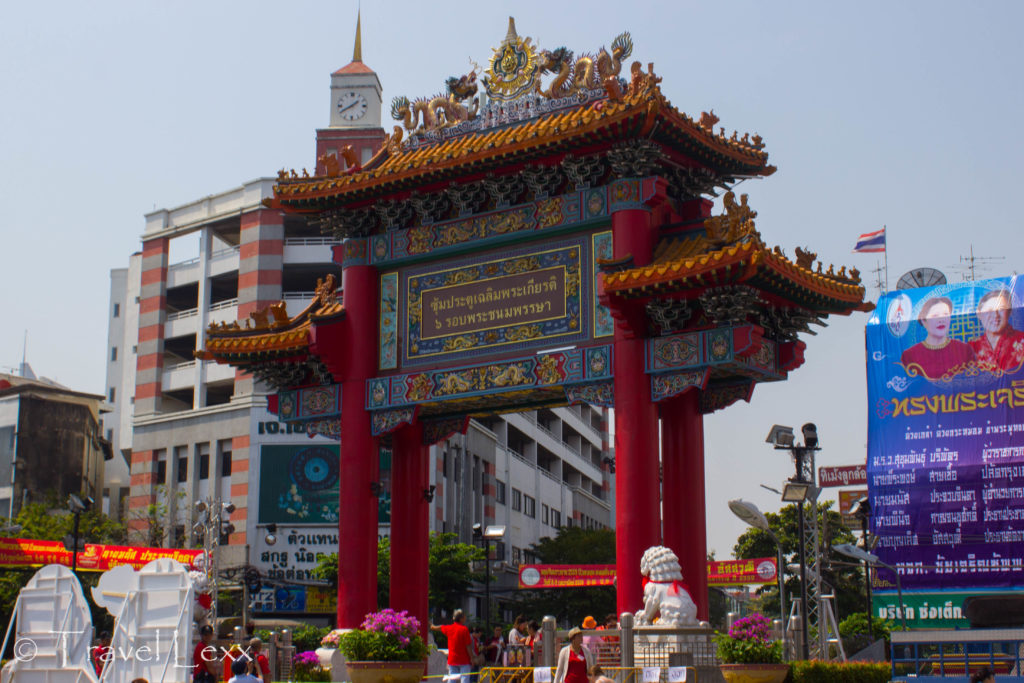 China Gate at the start of Yaowarat Road