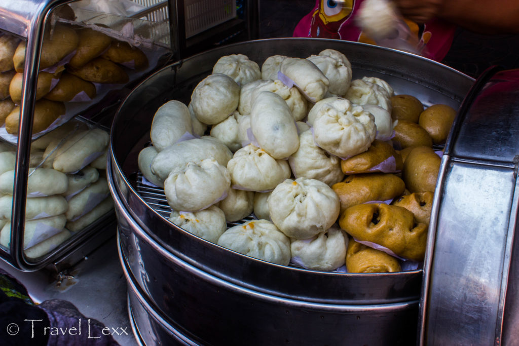 Delicious bao dumplings
