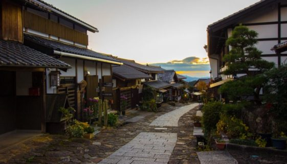 Walking the Nakasendo: Magome and the Stone Pavement of Ochiai