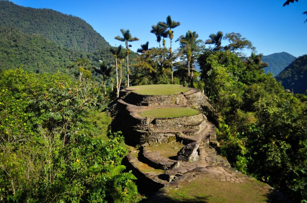 The lost city of Ciudad Perdida (source: https://www.flickr.com/photos/katiebordner/)
