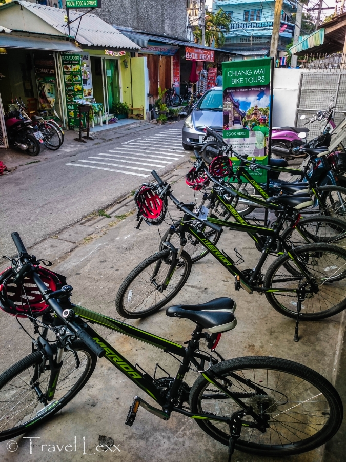 Cycling Chiang Mai tours from Grasshopper Adventures