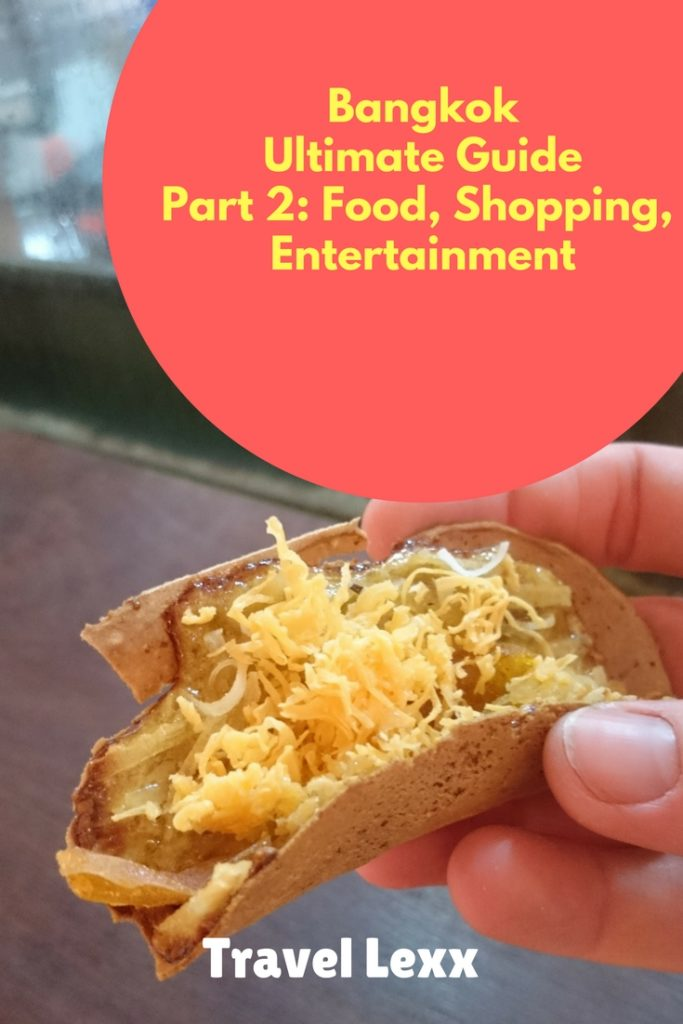 In Part 2 of my Ultimate Bangkok Travel Guide, I will focus on great places to eat and drink in the city, where to indulge in a bit of shopping and how to have a great night out in the Thai capital.