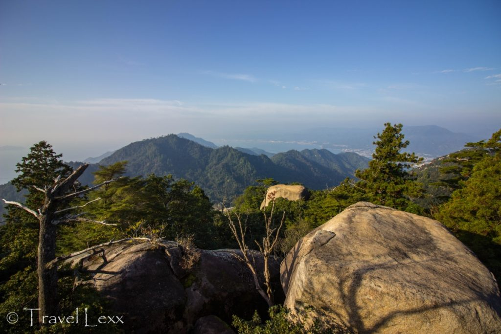 Mt. Misen summit views, Miyajima