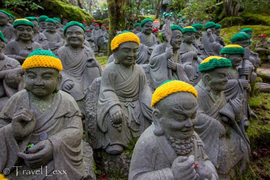500 Rakan Statues, Miyajima