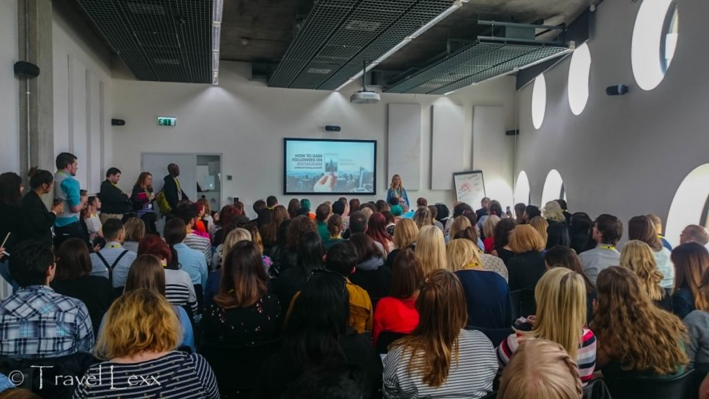 Polka Dot Passport talk, Traverse 17 blogging conference
