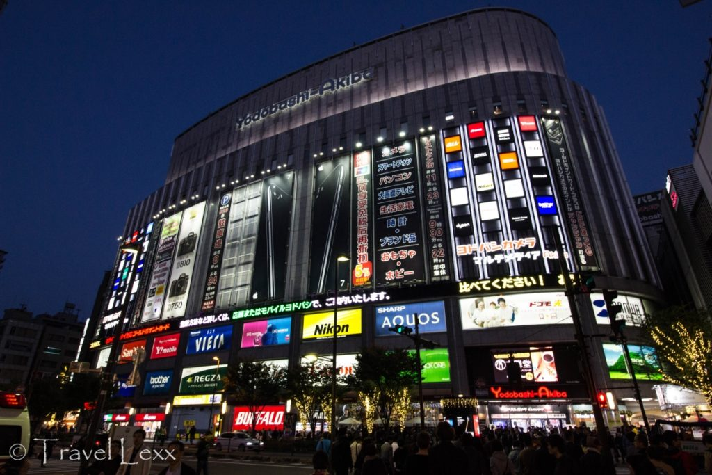 Yodobashi Akiba department store - 20 Reasons Why You Shouldn't Travel To Japan