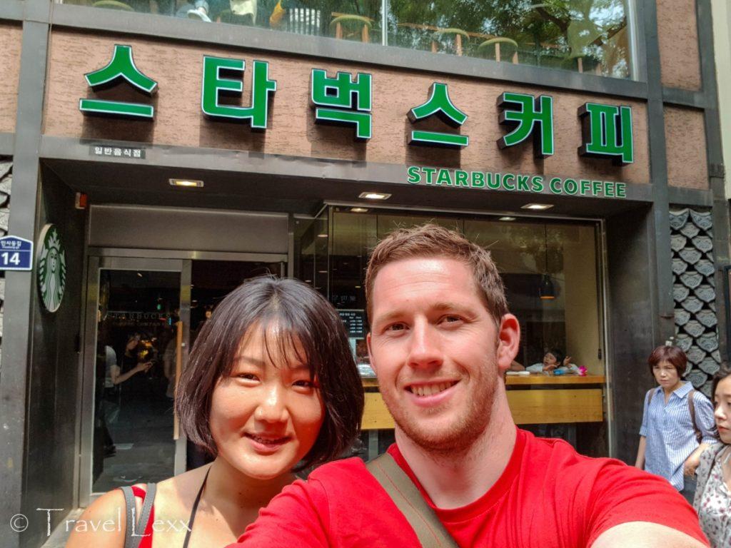 Korean Starbucks, Korea Travel Guide