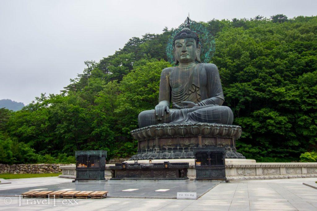 Tongil Daebul Buddha, Seoraksan hike