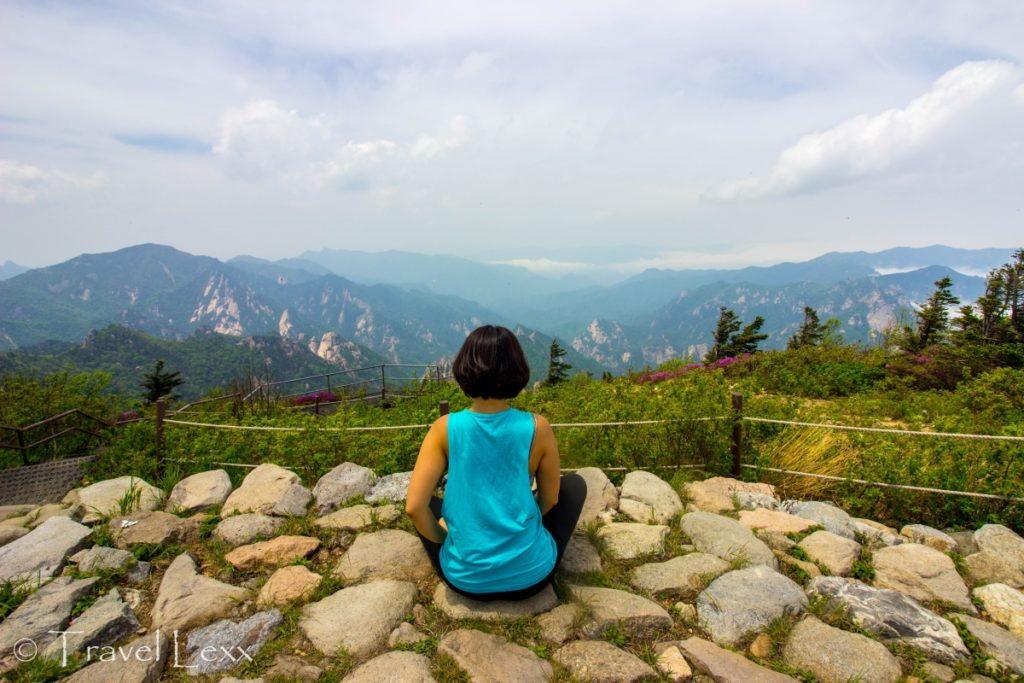 Socheongbong Peak, Seoraksan hike