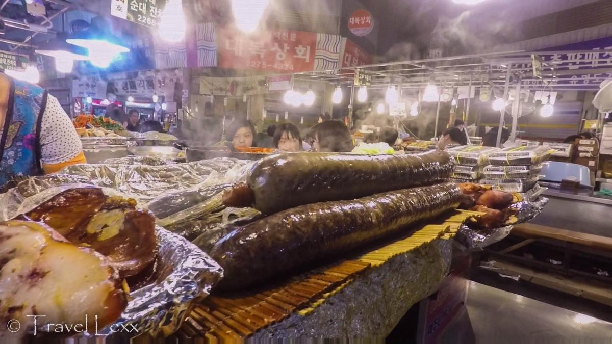 Sundae - Gwangjang Market