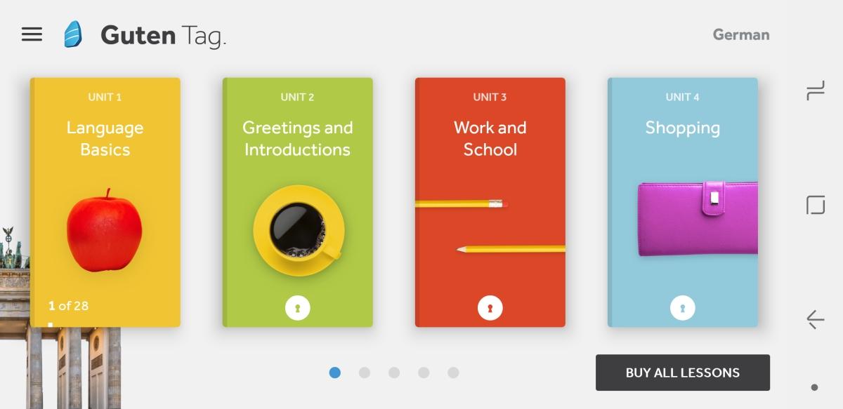 Language Apps - Rosetta Stone