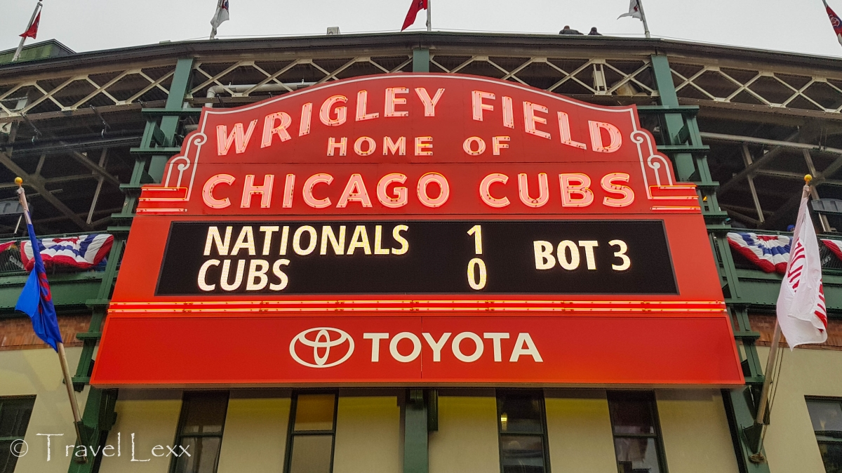 Marquee - Wrigley Field