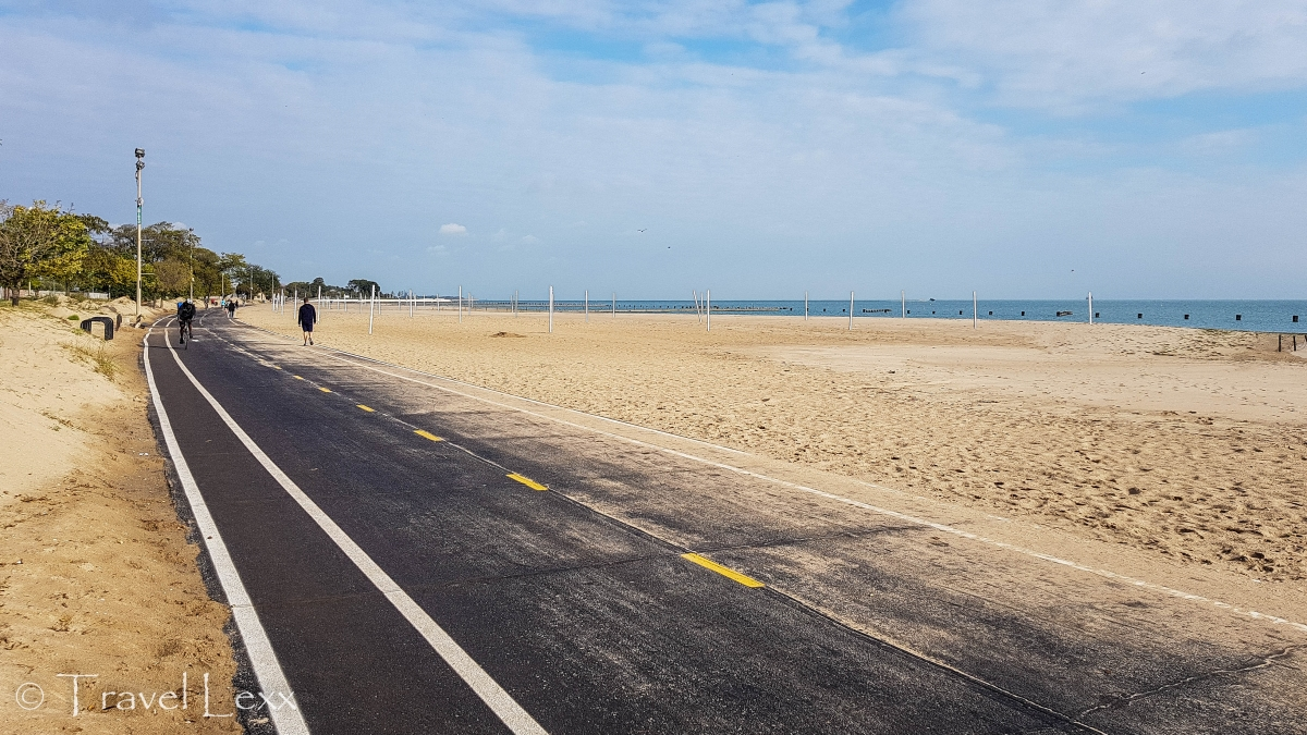 North Avenue Beach - Chicago Lakefront Trail