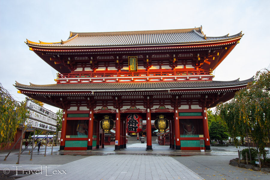 Hozomon Gate, Senso-ji - Things To Do in Tokyo