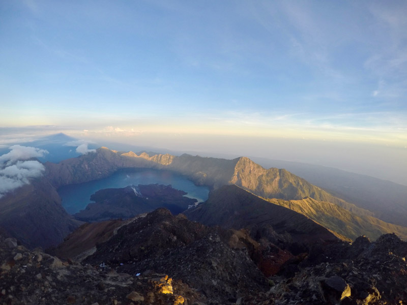 Mount Rinjani - Best hikes in the world