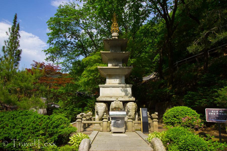 Stone pagoda - Guinsa